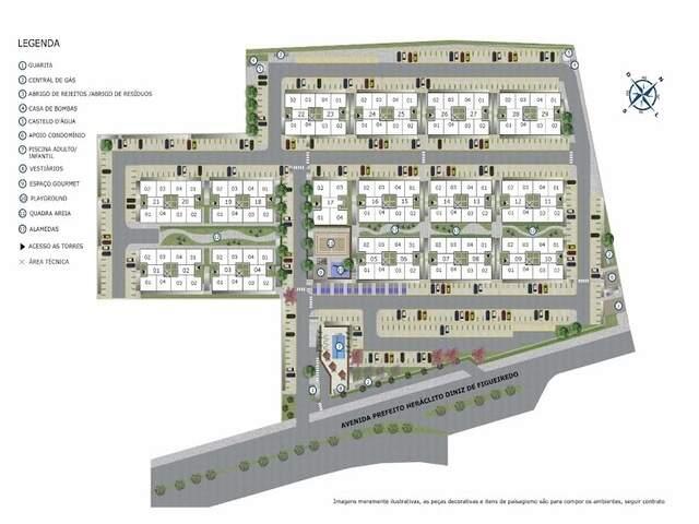 Apartamentos Jardim Unique - lazer completo no Jardim Seminário.