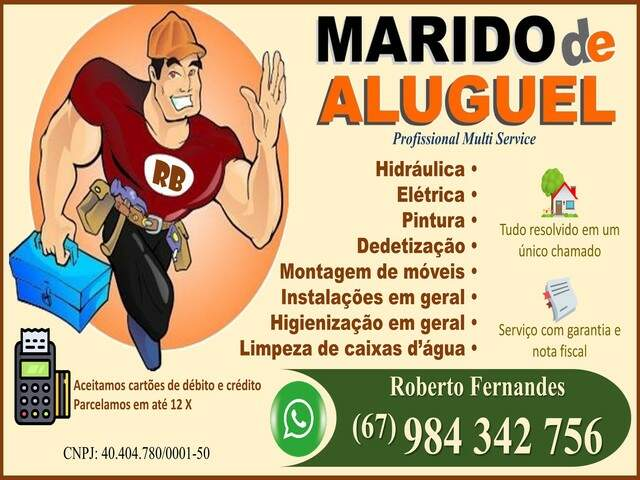 Marido de Aluguel - Profissinal Multi Service