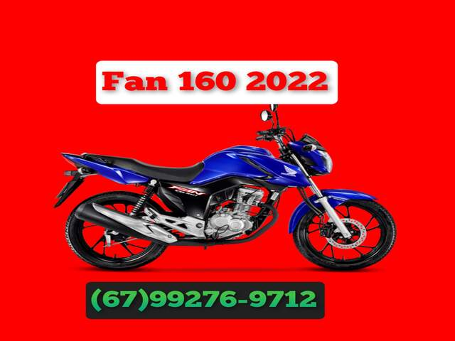 Moto CG Fan 100% Financiada 99276-9712