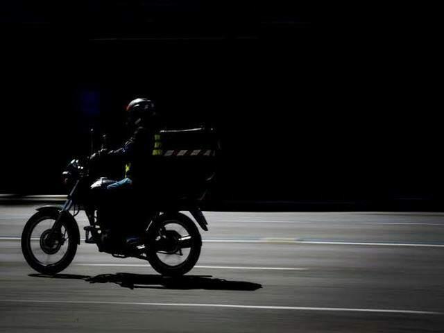moto entregador