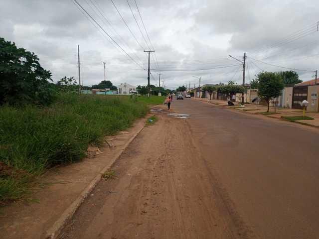 terreno no asfalto  avenida- Jardim são conrado