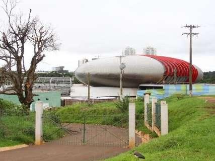 Reinaldo autoriza o reinício da obra do Aquário e entrega balanço para o TCE