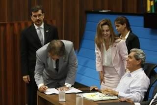 Governador libera emendas parlamentares na Assembleia. (Fotos: Cleber Gellio)