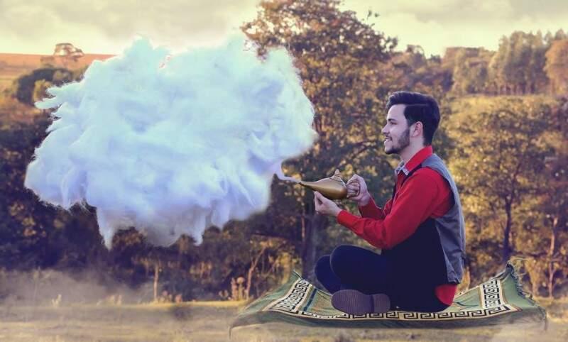 Mas muitas ideias fazem parte dos sonhos de Matheus. (Foto: Matheus Ribeiro)