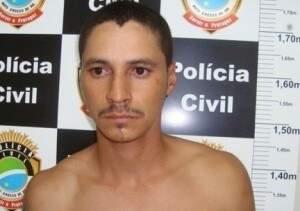 A Polícia faz buscas em uma mata onde José Osmar Freitas estaria escondido. (Foto: Divulgação)