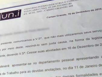 Funcionárias foram demitidas por carta (Foto: Divulgação)