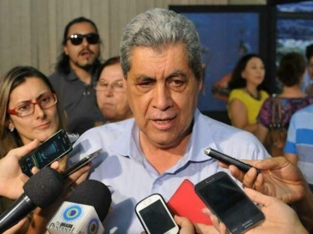 André Puccinelli está detido desde o último dia 20 de julho no Centro de Triagem Anizio Teixeira. (Foto: Arquivo)