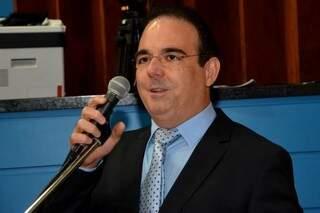 Felipe Orro durante sessão na Assembleia. (Foto: Divulgação/ALMS)