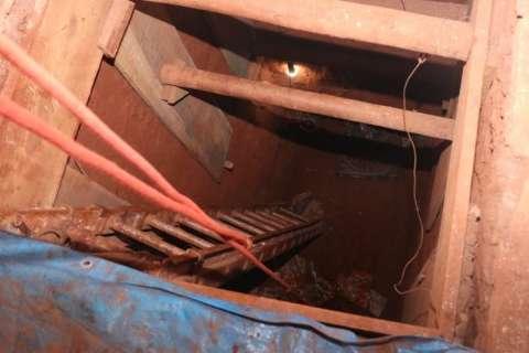 Veja como é o túnel cavado por ladrões até cofre da Central do Banco do Brasil