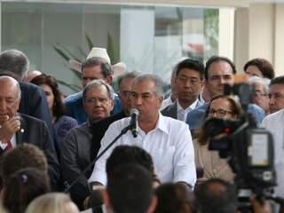 Governador do Estado, Reinaldo Azambuja, PSDB. (Foto: Saul Schramm/Arquivo).