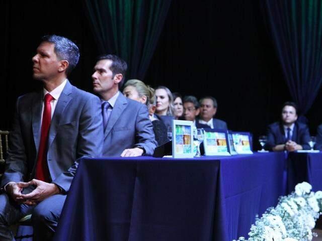 Secretários em cerimônia de posse. (Foto: Alcides Neto)