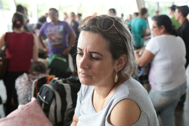 Silvana Prado veio de Cafelândia. (Foto: Fernando Antunes)