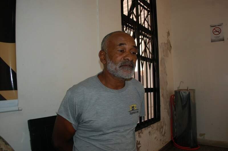 Suspeito nega agressões a esposa e filhos. Foto: Graziela Rezende