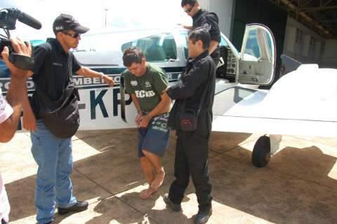 Transferido para MS assaltante de banco de Ribas preso em Guaíra