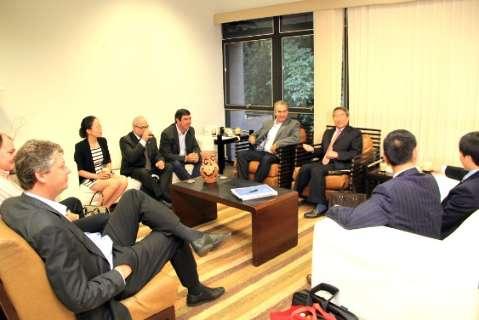 Banco chinês se reúne com Azambuja para definir investimentos em 2015