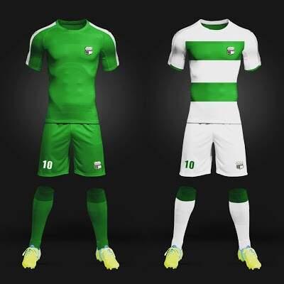 Equipe estreia nesta terça-feira uniformes com novas cores (Foto: Divulgação)