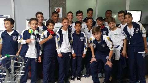 Time campo-grandense Sub-13 estreia com empate em torneio mineiro