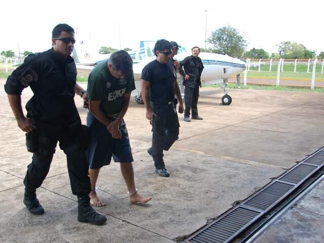 Integrante da quadrilha foi preso na sexta-feira. (Francisco Júnior)