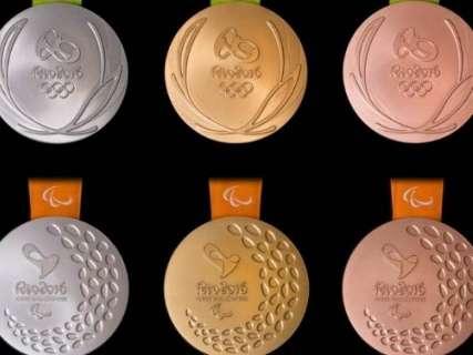 Com novidades, COB apresenta medalhas dos jogos olímpicos e paralímpicos