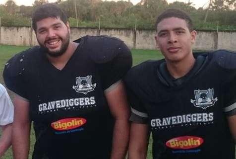 Campo Grande Gravediggers busca vaga hoje na final do futebol americano