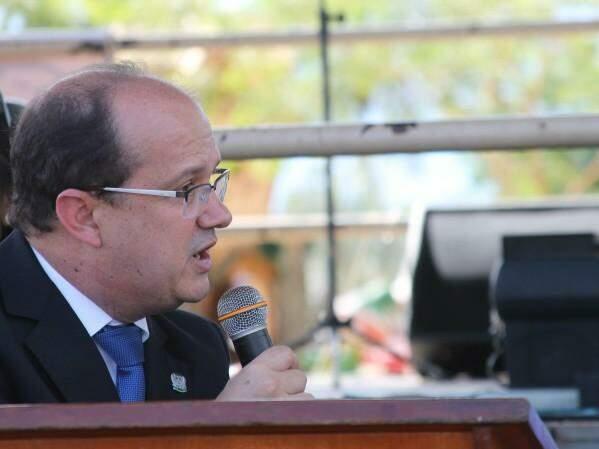 Secretário de Estado de Justiça e Segurança Pública, José Carlos Barbosa. (Foto: Lucas Gustavo/ Perfil News)