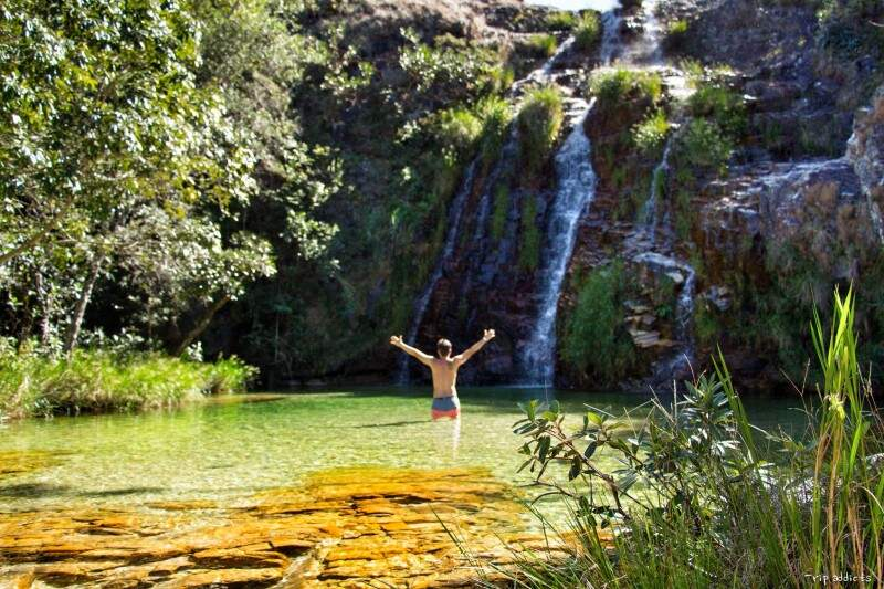 Lagoa Azul há cerca de 28 km de Capitólio e custa R$ 30,00 para entrar. (Foto: Trip Adiccts)