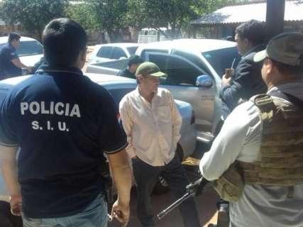 Sócio de chefe do PCC no Paraguai é preso na fronteira com MS