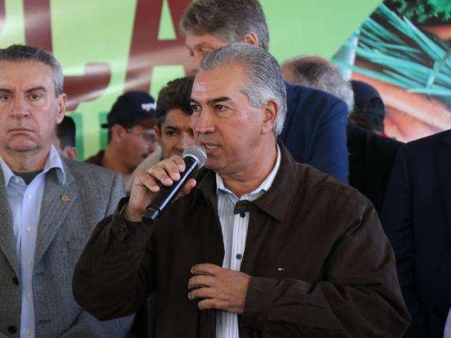 Reinaldo quer acordo de integração com Paraguai para segurança