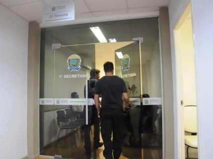 """""""Blindados"""", investigados da Vostok chegam para depor na Polícia Federal"""