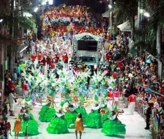 Carnaval é o mais famoso do Estado (Foto: Divulgação/Prefeitura)