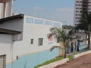 Sede da Seleta Sociedade Caritativa e Humanitária, em Campo Grande. (Foto: Marcos Ermínio)