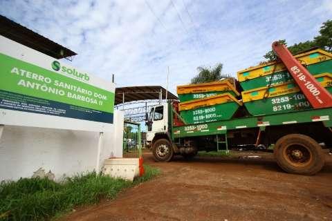 Preço do descarte de entulho em Campo Grande é inviável, diz caçambeiro