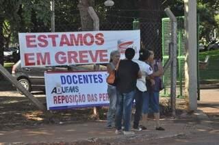 Paralisação não se restringe ao Estado e já atinge 44 das 63 universidades federais do país. (Foto: Marcelo Calazans)