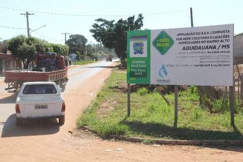 Em Aquidauana, Governo anuncia asfalto em vias urbanas e estrada turística
