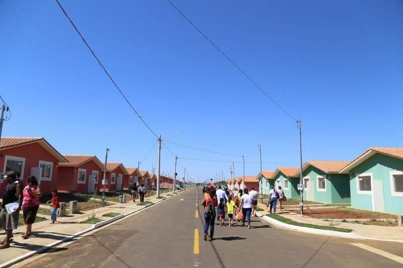 Mais 810 famílias recebem casas no Residencial Celina Jallad por meio do Minha Casa Minha Vida (Foto: Arquivo)