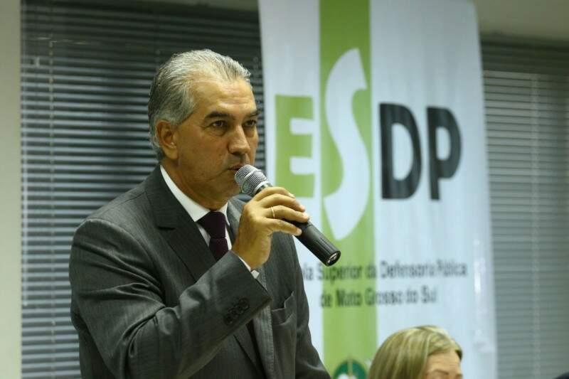 Governador cumpre agenda em Brasília, nesta terça-feira (Foto: André Bittar)