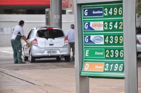 Etanol sofre reajuste em novembro e perde competitividade para gasolina