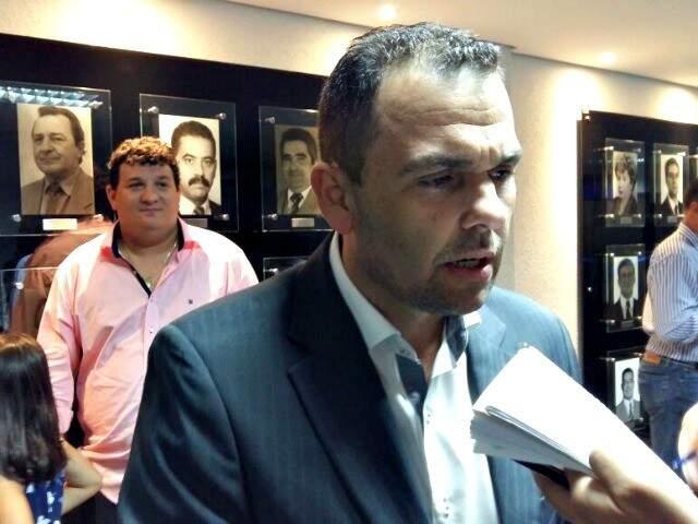 Presidente da Assomasul, e prefeito de Nova Alvorada do Sul, Juvenal de Assunção Neto (Foto: Ricardo Campos Jr.)