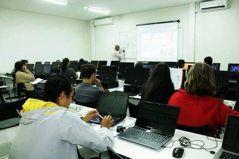 Sala de aula - Inovare MS.