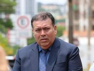 Advogado de militar, José Roberto Rodrigues da Rosa acompanhou o depoimento (Foto: Marcos Maluf)