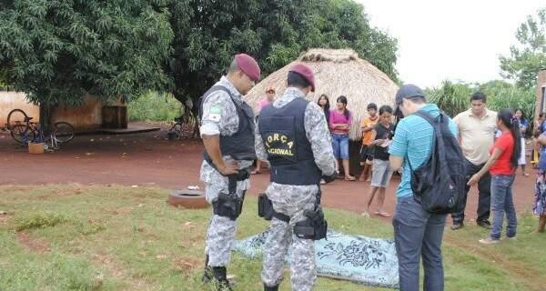 O indígena foi encontrado morto pela esposa. (Foto: Osvaldo Duarte)
