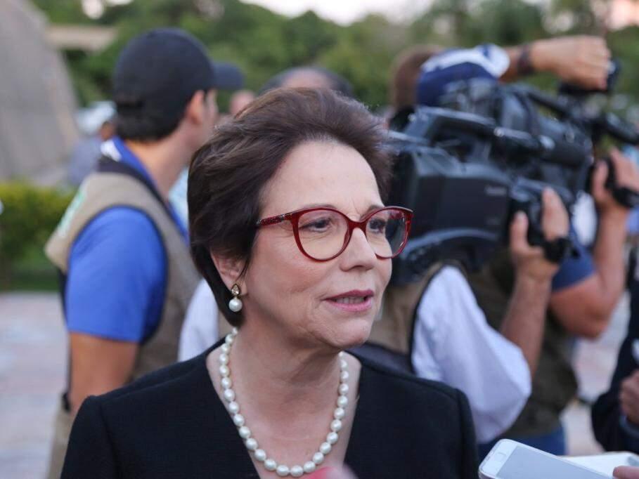 Tereza Cristina, deputada federal e futura ministra da Agricultura. (Foto: Paulo Francis/Arquivo).