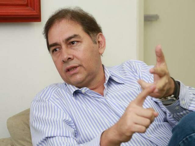 Em seu último dia no Paço Municipal, Alcides Bernal diz não ter arrependimentos. (Foto: Marcos Ermínio)