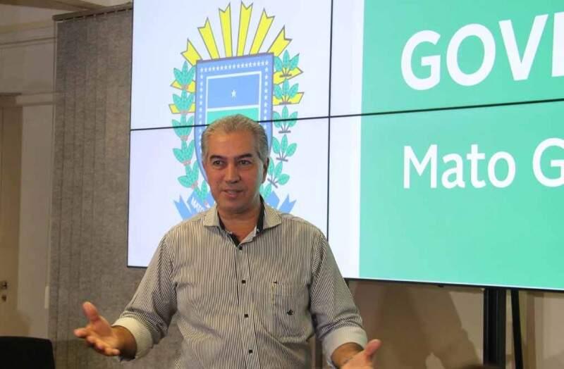 Reinaldo Azambuja disse que a contrapartida de MS é reforma da previdência e controle de gastos (Foto: Chico Ribeiro - Assessoria)