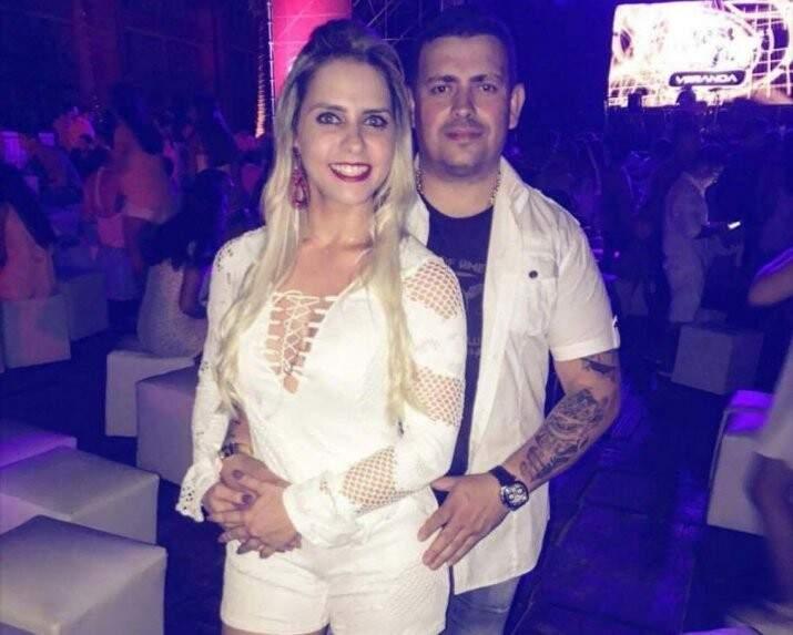 Paulo Jacques e Milena foram executados a tiros no dia 2 de janeiro (Foto: ABC Color)