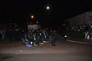 Triplo homicídio no Santa Luzia. Foto: João Garrigó