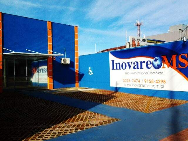 Nova sede da Inovare MS, na Avenida Mato Grosso, 1112.