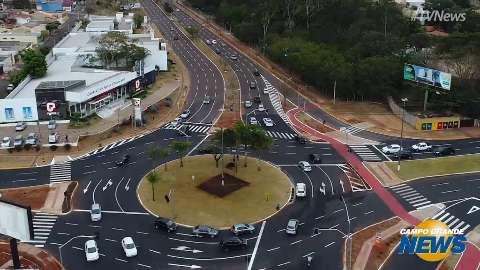 Agetran faz campanha para ensinar motoristas a utilizarem 'nova' rotatória