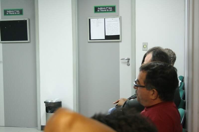 Das 12 testemunhas arroladas, apenas oito compareceram ao Fórum da Capital (Foto: Marcos Ermínio)