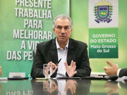 Reinaldo expõe situação da fronteira e cobra ajuda da União em artigo na Folha